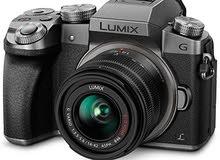 كاميرة Lumix G7  4k