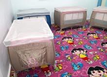 سرير أطفال للحضانات للاستفسار 0795300577