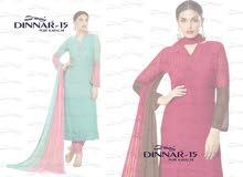 DINNAR 15 CHIFFON INDIAN DRESS MATERIAL