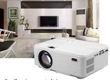 بروجكتر  RD 813 LED 2500 Lumens Projector with VGA for TV, Home and Theater HD
