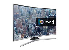 just like new with full box curved full hd tv