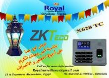 عرض شهر رمضان أجهزة حضور وانصراف موديلX628-TC