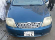 +200,000 km Toyota Corolla 2002 for sale