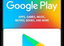 بطاقات غوغل بلي للبيع