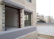 شقة ارضيه للبيع 200 متر مع ترس امامي في عبدون