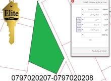 قطعة ارض للبيع في الاردن - عمان ناعور مساحة 4311م