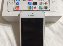 للبيع iphone 5s بحالة ممتازة كسر زيرو