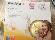 شفاط حليب نوع ميديلا سوينج جديد بالكرتونة Medela swing