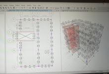 مهندس مدني انشائي .. دراسة وتصميم المخططات الانشائية