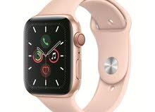 Apple Watch Series 5 GPS + Cellular 44mm Gold Aluminium Case with Pink Sand Spor