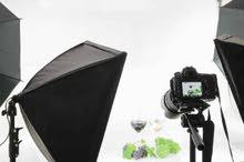تصوير منتجات وتصميم سوشيال