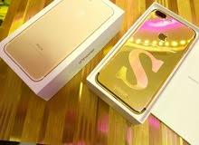 IPhone 7plus 64gb مطلي بماء الذهب عيار 24
