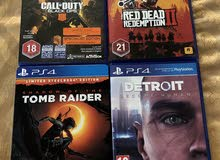 latest 4 PlayStation 4 Games