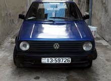 Volkswagen Golf car for sale 1991 in Zarqa city