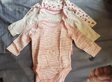 slightly used mother care brand baby clothes  3pcs