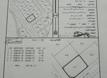 قطعة ارض للبيع في بوشر المسفاة مساحة 600 متر