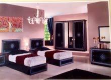 غرف نوم ايطالية اسمها ( دارين و لونا )  فردية  H