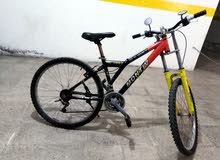 دراجه هوايه جبليه بحاله جيده للبيع