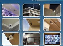 كاميرات مراقبه وأجهزة بصمه وأجهزة إنذار ضد السرقه