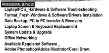 Call for Computer Repair _دعوة الإصلاح الكمبيوتر