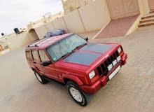 Maroon Jeep Cherokee 2002 for sale