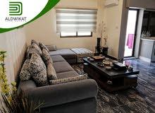 شقة مفروشة طابق اخير للبيع في ضاحية الامير راشد بمساحة بناء 100 م و ترس 100 م