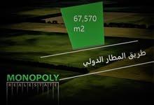 فرصة استثمارية  مميزة .. مباشرة على الطريق الدولي في خان الزبيب فقط 6 دنانير للمتر