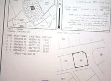 سكنية في صحار مجز الكبرى 10 كورنر بموقع جيد