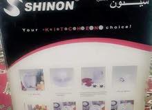 خلاط مع مثرمة من شركة شينون  السعر 40 الف وبي مجال غير مستعملة
