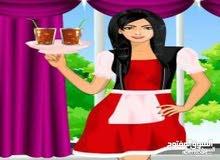 مطلوب فورا سيدة جنسية عربية لتقديم الضيافة لعمل الشاي والقهوة بشركة بحولي