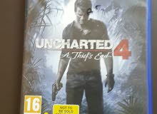 CD UNCHARTED 4 PS4