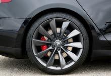 Tesla model s 21 rims grey oem