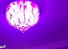 ثريا كريستال متعددة الإضاءات LED مع سماعة شبه وكالة بسعر مغري جداً جداً