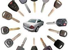 لدينا مفاتيح وريموت كنترول لجميع أنواع السيارات / Car keys & Remotes