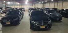 مرسيدس S400 بالسائق وبدون  للأجانب والأخوة العرب