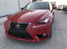 Lexus IS car for sale 2016 in Al Masn'a city