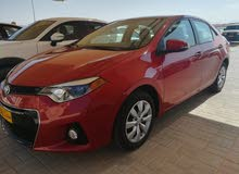 For sale 2016 Red Corolla
