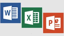 MS WORD, MS EXCEL & MS POWERPOINT