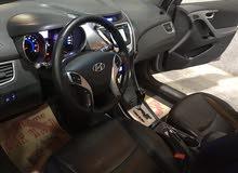 سيارة هونداي أفانتي فرخ التاب 2011 لون فيراني مميز جداً
