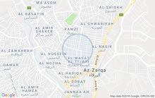 عمارة طابقين الزرقاء بقرب من بنك العربي جامع العرب شارع ابن سينا