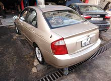 Gold Kia Spectra 2004 for sale