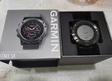 ساعة قارمن فينكس 5X اصدار السفاير ، Garmin fenix 5x sapphire edition