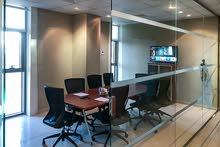 مكتب مفروش 129 متر للإيجار في جدة ، الروضة
