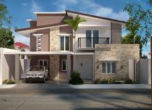 ارضين سكنية للبيع متقابلات في منطقة مصفوت - حوض 9 - عجمان KBH 06