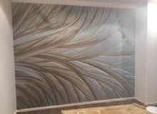 فني ديكورات باركية ورق جدران فوم دهانات