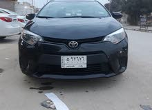 Black Toyota Corolla 2016 for sale