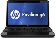 """لابتوب HP Pavilion G6 بحالة ممتازة """" مازال بالنايلو """""""