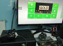 Xbox 360  slim  250gb hdd play copy and original games free 20 copy cds 1 controller