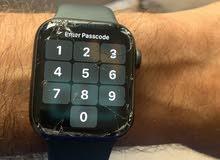 للبيع ساعة ابل سيريس 5 مكسورة شاشة