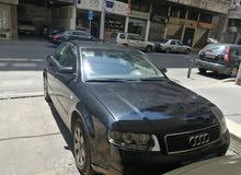 Audi a4 2.0 2003 لون اسود حاله جيده